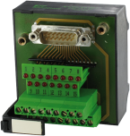 UG SUB-D9 BL - pasivni modul, LED