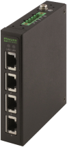 Tree 4TX Metal - Unmanaged switch - 4 porty