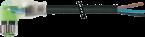 M8 F uhlovy, 2x LED / volny konec