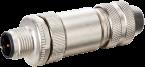 MOSA M12 M primy, 5pin, stineny, 4…6mm
