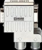 Adapter M12 / D-Sub 90° Profibus