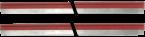 ACS - MICO Pro mustkovy set 2x cerveny
