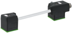 2 ventil. k. typ A 18mm / M12 M vodorovne