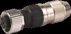 MOSA M12 F primy, 4pin, 0,25...0,5mm2,