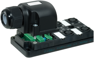 Pasivni rozbocovac MPV12 - 4xM12, 4pin
