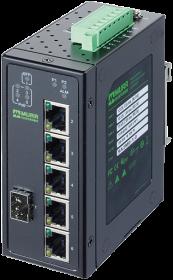 TREE 6TX 4PoE 1SFP GE - nespravovany switch