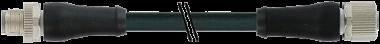 M12 Power M primy / M12 Power F primy - L-kodovani, 5pin
