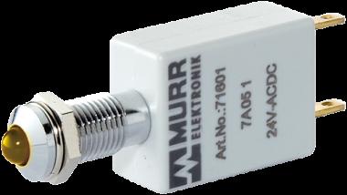 LED indikator - zluta
