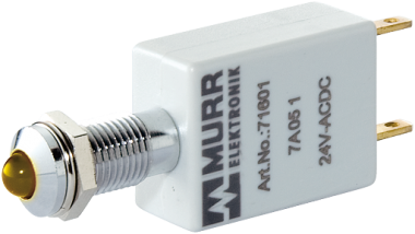 LED indikator - zluta / zelena