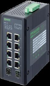 TREE 10TX 4PoE 2SFP GE - nespravovany switch