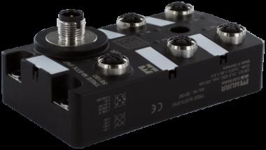 PROFINET managed Switch  5x10/100BT IP67  plastic M12