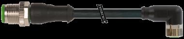 M12 M primy / M8 F uhlovy