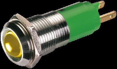 LED indikator - zluta, 10mm