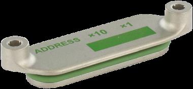 ACS - kovovy kryt adresy pro MVK-Metal
