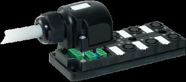 Pasivni rozbocovac MPV12 - 6xM12, 4pin
