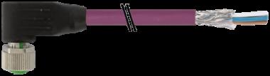 M12 F uhlovy / volny konec, B-kodovani