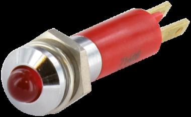 LED indikator - zluta, 5mm