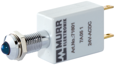 LED indikator - modra