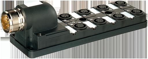 Pasivni rozbocovac MPV12 - 8xM12, 5pin