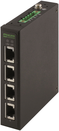Tree 4TX Metal - Unmanaged switch - 4 porty