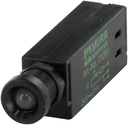 LED indikator - cervena