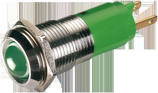 LED indikator - zelena, 10mm