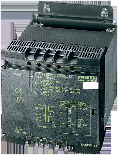 MTL transformator, 1fazovy, P: 40VA