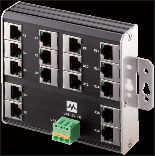 Xenterra 16TX WM - nespravovany switch