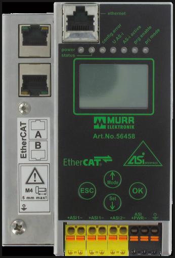 Gateway EtherCAT AS-i, 2 Master, Spec. 3.0