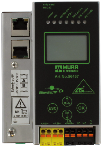 Gateway AS-Interface / Ethernet/IP, spec. 3.0