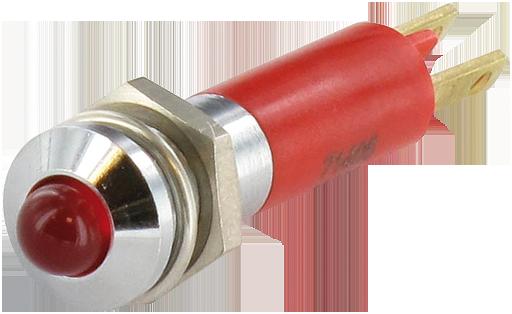 LED indikator - zluta, 3mm