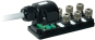 Pasivni rozbocovac MOSA - 6xM12, 4pin